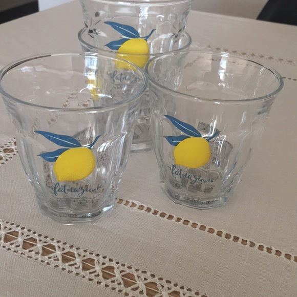 NWT Set Of 4  Juice Glasses NWT